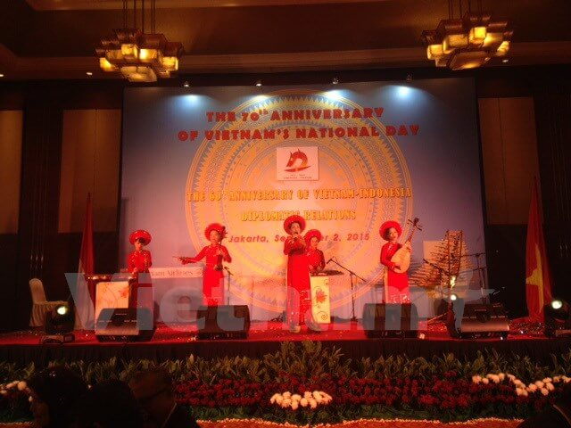 Quan chức Indonesia tham dự Lễ kỷ niệm Quốc khánh Việt Nam
