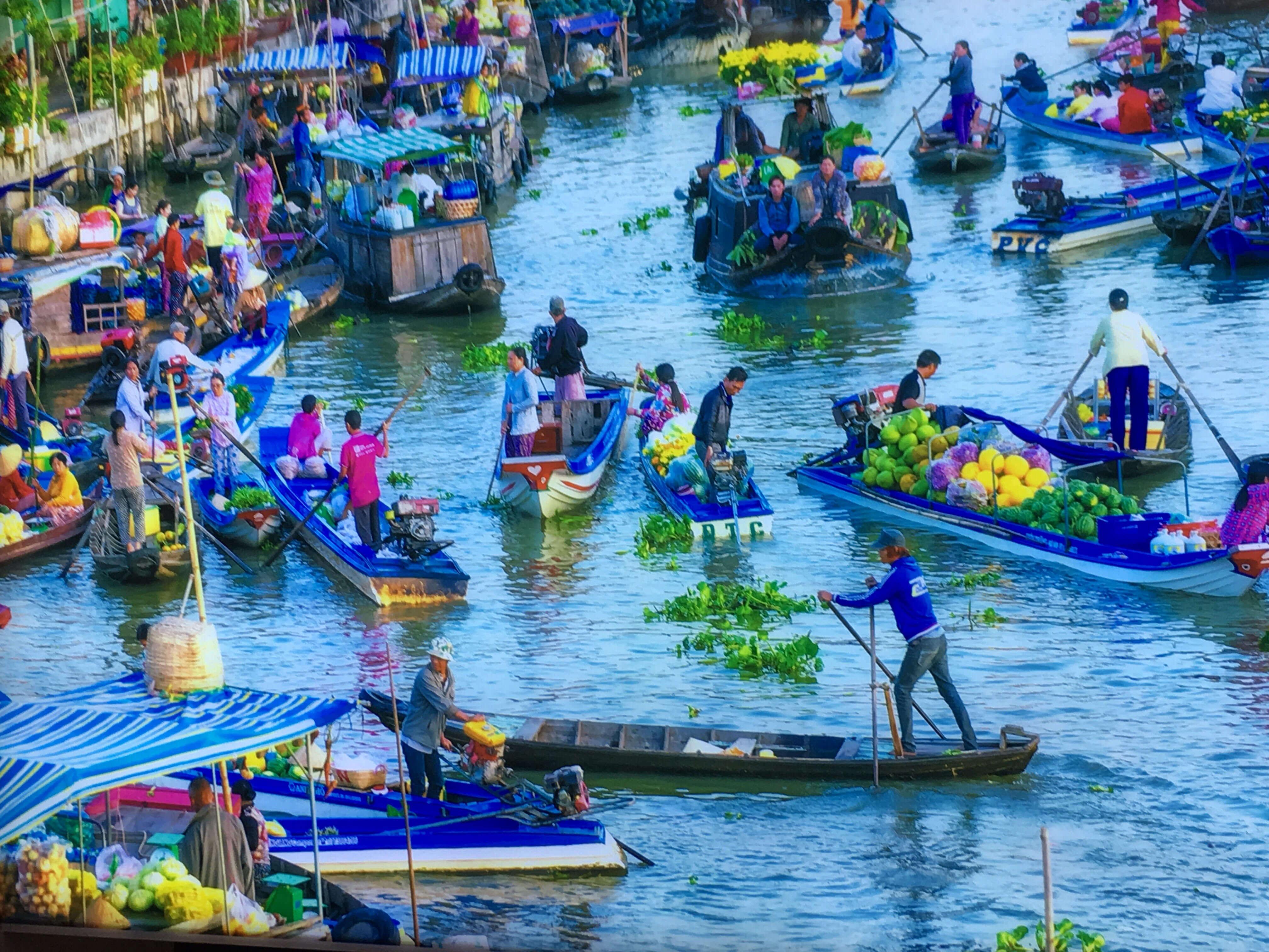 mekong delta - best places to visit Vietnam in September