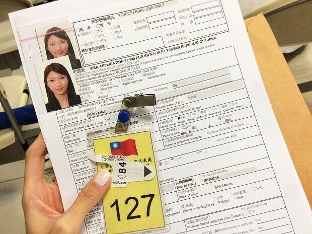 Visa Đài Loan 10 năm