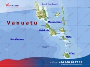 How to get Vietnam visa on Arrival from Vanuatu? - Visa Vietnam au Vanuatu