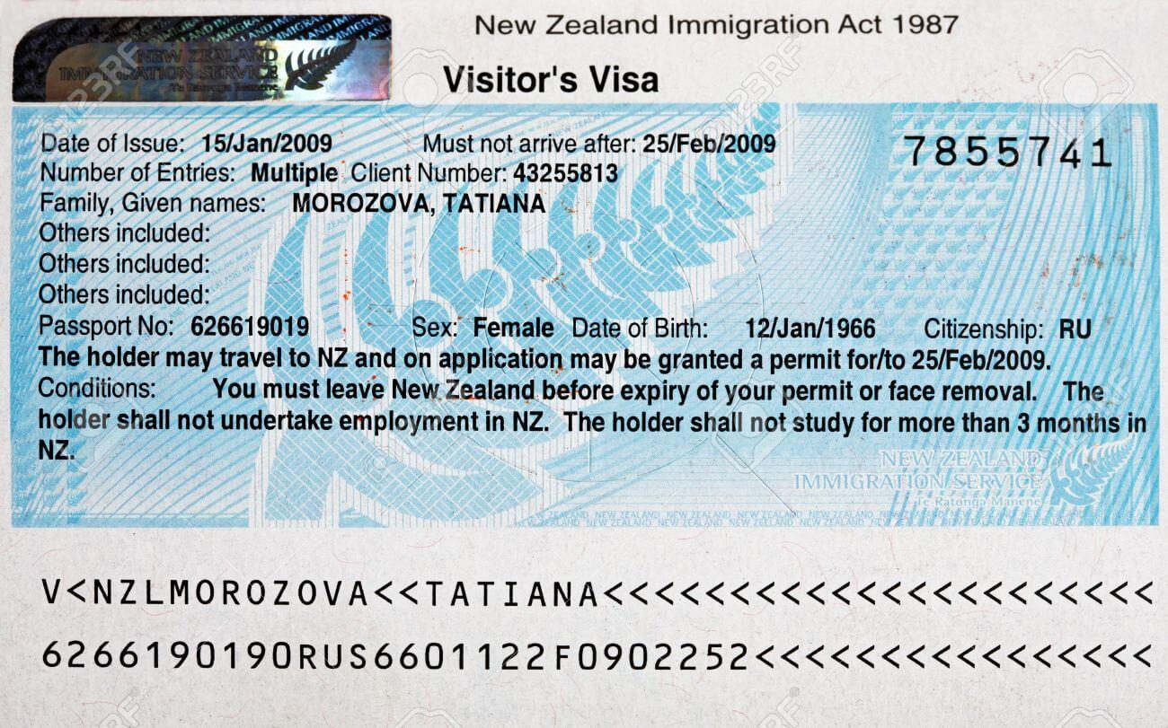xin visa New Zealand