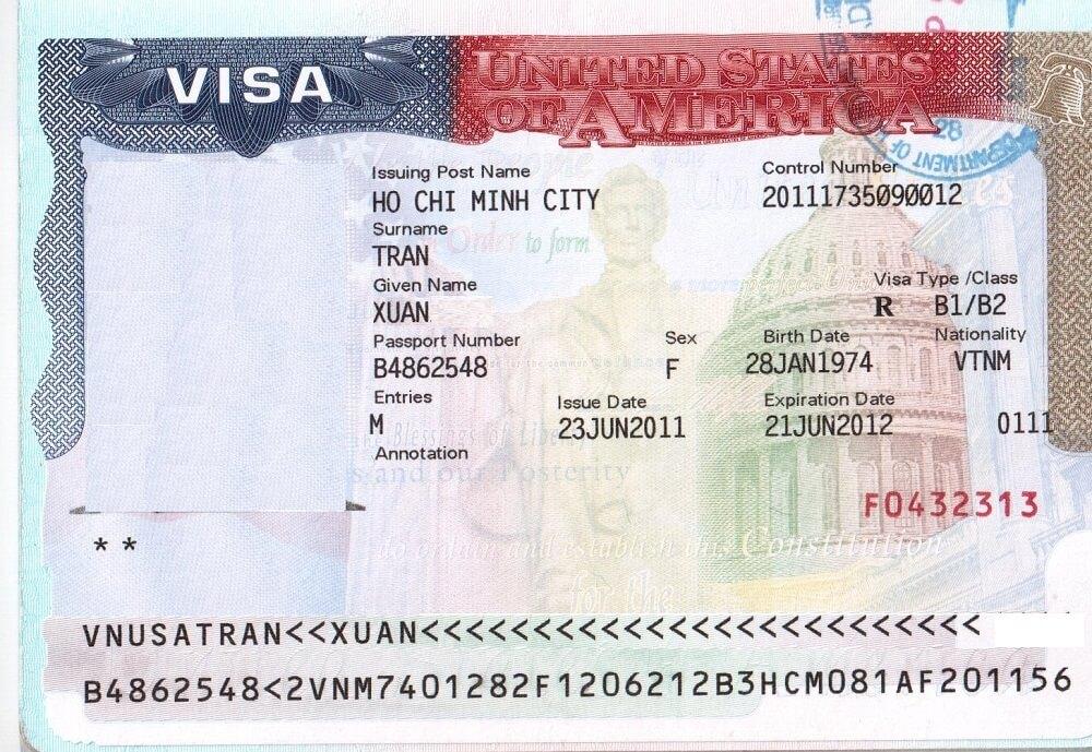 Dịch vụ gia hạn visa Mỹ tại nhà